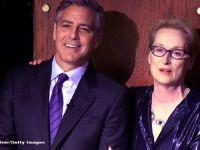 Donald Trump, in razboi cu Hollywood-ul. George Clooney il ataca pe presedintele ales, in apararea lui Meryl Streep