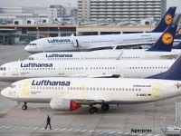 Lufthansa anulează, marți, peste 800 de zboruri, din cauza unei greve generale