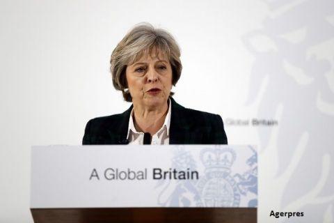 Discurs istoric la Londra. Theresa May a anuntat ruperea totala a Marii Britanii de UE si parasirea pietei unice europene:  Vom negocia cel mai bun acord comercial posibil