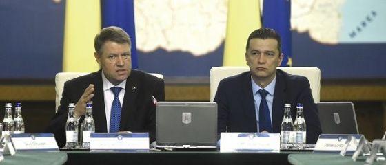 Surpriza la Palatul Victoria: presedintele Klaus Iohannis a condus sedinta Executivului de miercuri.  Sunt doi elefanti in incapere, dar nu se vad