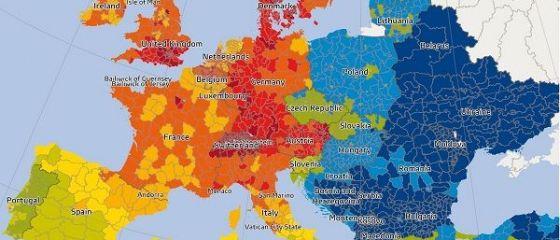 Puterea de cumparare in Romania a crescut in 2016, dar ramane una dintre cele mai mici de pe continent. Judetele in care locuiesc cei mai bogati romani