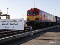 "Beijingul reactiveaza ""Drumul matasii"". Primul tren de marfa a ajuns din China in Marea Britanie, dupa 18 zile si 12.000 km parcursi prin sapte tari"