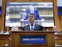 Parlamentul a aprobat cu unanimitate de voturi cererea de convocare a unui referendum, a presedintelui Klaus Iohannis