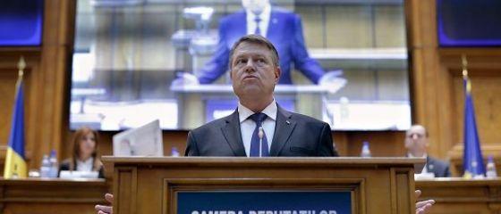 Iohannis s-a adresat Parlamentului, in contextul modificarii legislatiei penale:  Cum s-a ajuns aici, la numai o luna dupa alegeri? Nu va mai bateti joc de Romania! Ati castigat, acum guvernati!
