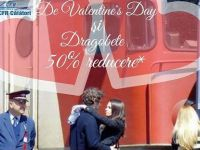 Bilete de tren la jumatate de pret, de Valentine rsquo;s Day si Dragobete