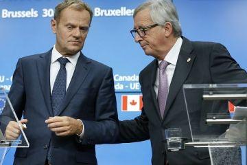 Sorin Grindeanu se intalneste cu Juncker si Tusk, la Bruxelles.  Vreau sa ii asigur pe partenerii nostri ca lupta impotriva coruptiei este prioritara in Guvernul pe care il conduc