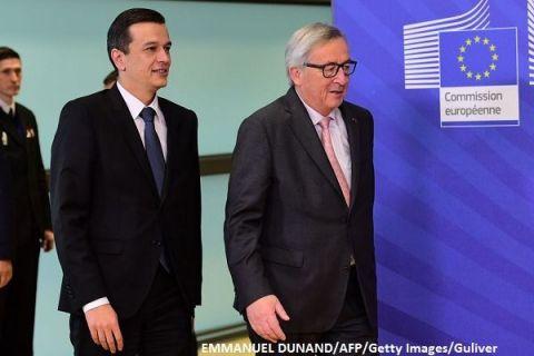 Dus rece de la Bruxelles pentru Guvernul Grindeanu. CE anticipeaza un deficit de 3,6%, in 2017 si de 3,9%, in 2018.  Initiative precum OUG 13 ameninta progresele in lupta anticoruptie