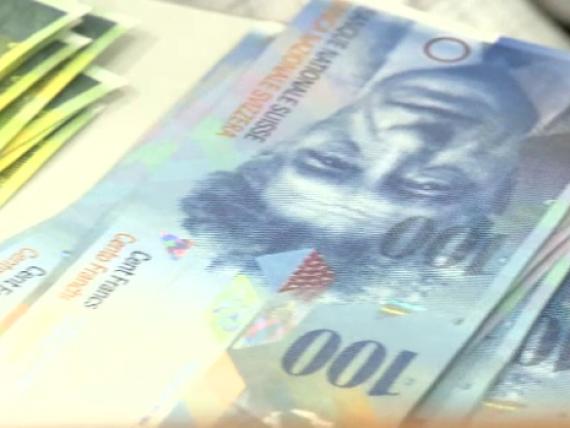 Banca Nationala a Elvetiei a cheltuit peste 67 mld. franci in 2016, pentru a devaloriza moneda