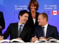 Liber la exporturi romanesti in Canada. Ce avantaje are Romania de pe urma semnarii CETA, pe langa eliminarea vizelor