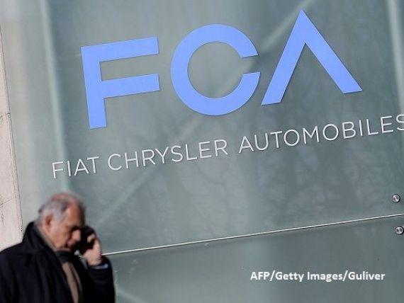 Fiat Chrysler admite ca este investigat in SUA din cauza emisiilor unor vehicule diesel