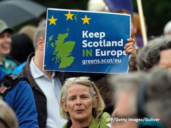 Rasturnare de situatie in Scotia. Nicola Sturgeon, gata sa abandoneze planurile de a ramane in UE, pe fondul cresterii euroscepticismului