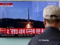 Coreea de Nord a lansat patru rachete balistice in mare, trei au ajuns in apele Japoniei:  E o actiune extrem de periculoasa
