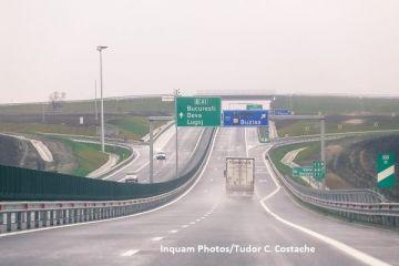 Romania are 784 km de autostrada, de luni, de la ora 17.30. Compania de Drumuri a deschis traficului lotul 2 al autostrazii Lugoj-Deva