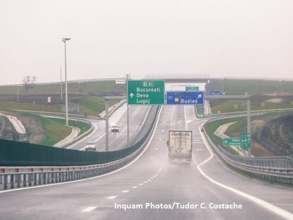 Ministrul Transporturilor a anunțat data la care se va putea circula pe lotul 3 al Autostrăzii Lugoj-Deva