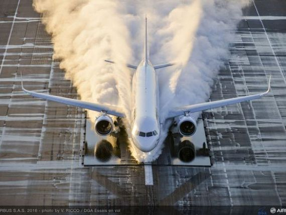 China cumpara 140 de avioane de la Airbus, comanda in valoare de 22 mld. dolari. Cele doua parti vor colabora si in domeniul aviatiei si spatiului