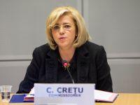 Corina Crețu: Peste 60% din investiţiile publice din România sunt create prin fonduri europene