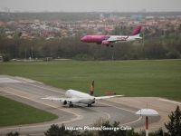 Wizz Air lanseaza trei rute noi din Suceava si creste frecventa zborurilor catre Italia si Marea Britanie