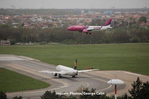 Aeroporturile din Romania se sufoca. Extinderea operatorilor low-cost au adus recorduri de trafic si de calatori si imping aerogarile spre limita functionarii in conditii de siguranta
