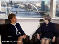 Guvernul de la Londra  curteaza  provinciile-problema, inaintea declansarii Brexitului. Scotia si Irlanda de Nord ameninta cu ruperea de Regat, dupa iesirea din UE
