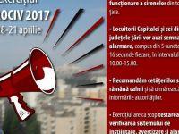 Se verifica alarmele. Sirenele care anunta situatiile de urgenta vor incepe sa sune la ora 10:00 in Bucuresti si 13 judete
