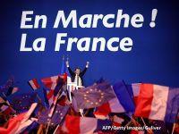 Euro ajunge la maximul ultimelor 5 luni, iar bursele europene cresc puternic, dupa victoria lui Macron. Investitorii considera indepartat pericolul iesirii Frantei din UE