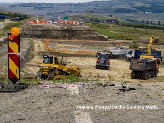 CNAIR a scos la licitație proiectarea și execuția a 68 de km din autostrada Sibiu-Pitești