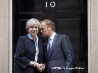 """Premierul May promite ca va deveni o """"femeie a naibii de dificila"""" in timpul discutiilor legate de Brexit. Tusk avertizeaza ca negocierile vor deveni imposibile, daca emotiile nu sunt controlate"""