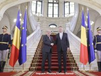 """Intalnire Juncker-Iohannis, la Cotroceni. Presedintele CE: """"Romania a indeplinit toate criteriile de intrare in Schengen si vreau ca pana la preluarea presedintiei UE, Romania sa faca parte din Schengen"""""""