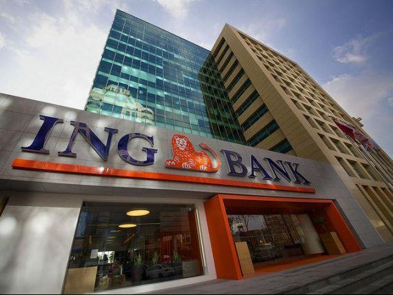 ING Bank România a afişat un profit brut semestrial de 303 milioane lei, în creştere cu 45%