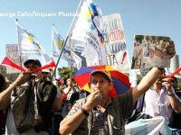 Mitingul de la Palatul Parlamentului s-a incheiat, dar angajatii din administratie vor sa iasa din nou in stada in 6 iunie