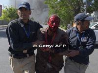 Atac cu masina capcana in cartierul diplomatic din Kabul. Reuters: Explozia a facut cel putin 80 de morti si 350 de raniti