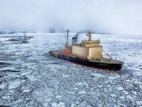 Cum salvează transportatorii sute de mii de dolari de pe urma încălzirii globale. Navele parcurg zona arctică în timp record