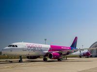 Wizz Air aduce încă o aeronavă în România și lansează patru rute noi