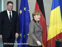 """Iohannis, in vizita de trei zile in Germania. Presedintele a discutat cu Merkel despre criza de la Bucuresti: """"Am transmis mesajul ca avem o criza la guvernare, dar Romania e stabila"""""""