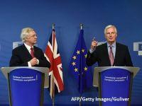 """O nouă rundă de negocieri pentru Brexit începe la Bruxelles. Cele două părți se acuză de tergiversare și de discuții """"fără substanță"""""""