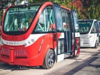 Navya Technologies testeaza mini-autobuze autonome in districtul financiar al Parisului