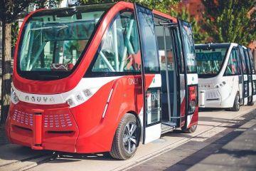 Navya Technologies testeaza mini-autobuze autonome in districtul financiar al Parisului