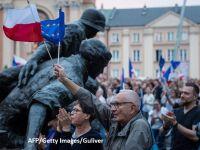 Încă un avertisment pentru Varșovia: CE este pregătită să împiedice Polonia să se îndepărteze de valorile democrației