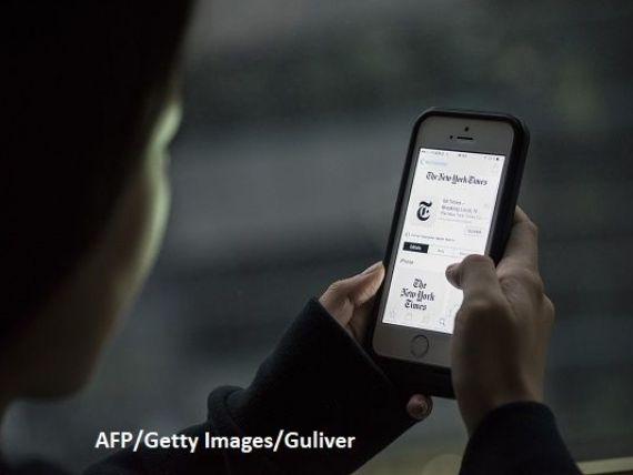 New York Times a inregistrat un avans de 9,2% al veniturilor in al doilea trimestru, depasind 400 mil. dolari, ca urmare a cresterii publicitatii online