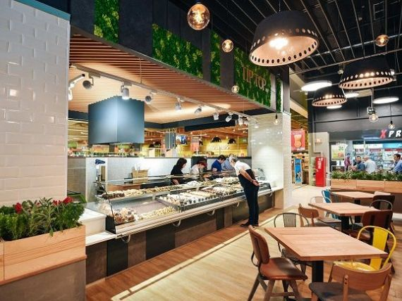 Kaufland lanseaza conceptul de open mall in Romania, prin amenajarea de zone de restaurante in exteriorul hypermarketurilor