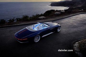 Mercedes a prezentat Maybach 6 Cabriolet, conceptul electric de 750 de cai putere și autonomie de 500 km.  Totul se rezumă la frumusețe , spune șeful Mecedes-Benz