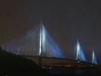 Scoțienii au inaugurat cel mai lung pod suspendat din lume, care traversează estuarul Forth