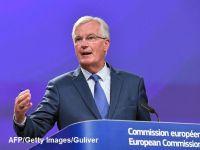 A cincea rundă de negocieri Londra-Bruxelles fără  pași importanți  pe tema Brexitului. Barnier anunță că  nu va fi în măsură  să recomande trecerea la următoarea fază