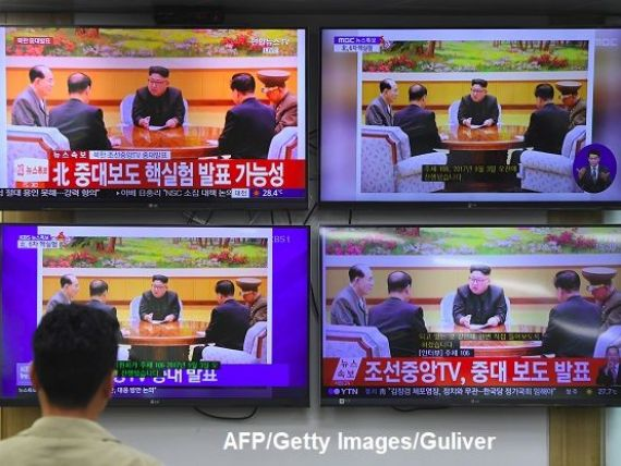 Testul nuclear din Coreea de Nord zguduie piețele financiare. Euro, francul elvețian și prețul aurului cresc