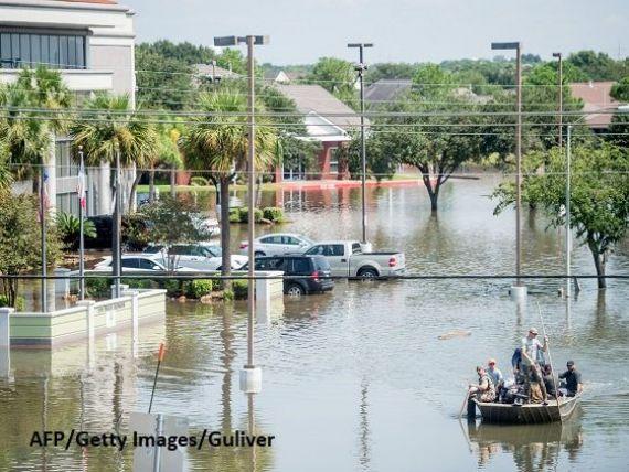 Harvey, mai rău decât Katrina. Pagubele în urma uraganului ar putea să coste Texasul 180 mld. dolari. Peste 5% din capacitatea de producţie a petrolului din Golful Mexic este închisă
