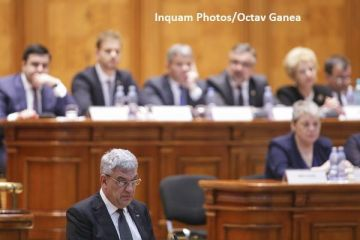 Tudose, glume în Parlament despre situația economică a României:  Ne cerem scuze că vom depăşi prognoza şi creșterea economică va fi mai mare. Nu ne atingem de Pilonul II de pensii