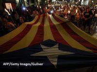 """Separatiştii catalani au luat cu asalt străzile Barcelonei, înaintea referendumului pentru secesiune, interzis de guvernul de la Madrid: """"În 48 de ore, Catalonia va fi independentă"""""""