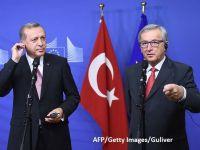 Juncker se opune unei aderări a Turciei la UE în viitorul apropiat și cere președintelui Erdogan să nu mai critice liderii europeni