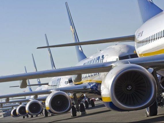 Încă o problemă pentru Ryanair, după ce a anulat mii de zboruri în toamnă. Piloții amenință cu greva generală în preajma sărbătorilor