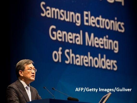 Șeful Samsung și-a anunțat demisia în ziua în care gigantul sud-coreean a făcut publice estimări de profit record pentru trimestrul al treilea